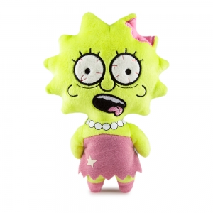 Simpsons Lisa Phunny Plush Zombie