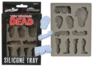 The Walking Dead silicon tray