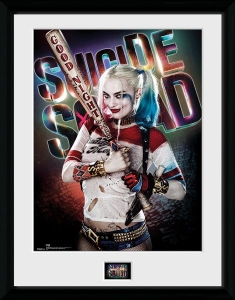 DC Comics: Suicide Squad - Harley Quinn with bat Collector Print