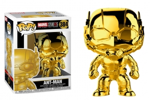 POP Marvel: MS 10 - Ant-Man (Gold Chrome)