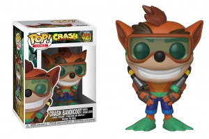 Pop! Games: Crash Bandicoot - Crash Bandicoot  with scuba gear