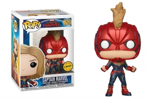 Pop Marvel: Captain Marvel - Captain Marvel CHASE
