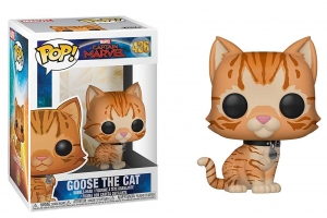 Pop Marvel: Captain Marvel - Goose the Cat
