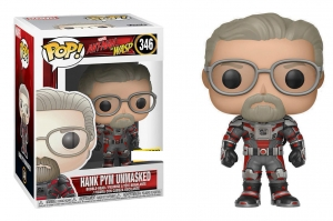Pop! Marvel: Ant-Man & The Wasp - Hank Pym unmasked exclusive