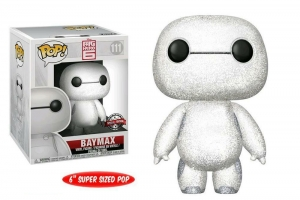 FUNKO POP! DISNEY: BIG HERO 6 - NURSE BAYMAX glitter exclusive