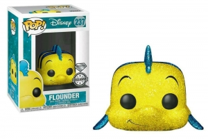 Pop! Disney: The Little Mermaid - Flounder glitter exclusive