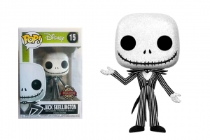 POP! Vinyl: Disney: NBX: Jack Skellington Glitter exclusive