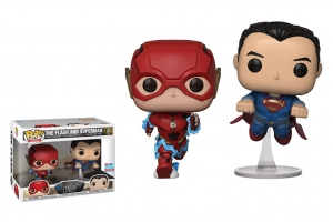 Funko Pop The Flash And Superman 2 Pack Justice League