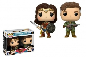 POP! Vinyl 	2 -Pack: DC: Wonder Woman: Steve Trevor & WW