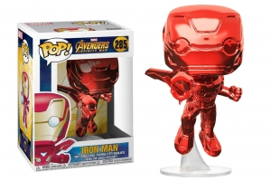 POP! Bobble: Marvel: Avengers Infinity War: Iron Man (Red Chrome) exclusive