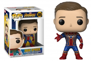 POP! Bobble: Marvel: Avengers Infinity War: Unmasked Iron Spider exclusive