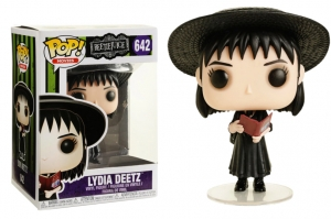 Funko POP! Movies: Beetlejuice - Lydia with handbook exclusive