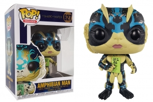 Pop! Movies: Shape of Water -Amphibian Man with Card
