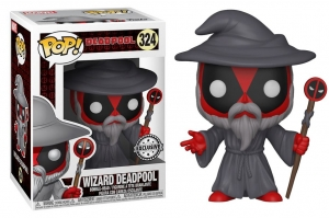 Pop! Marvel:  Deadpool Wizard exclusive
