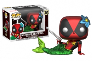 Pop! Marvel:  Deadpool Mermaid metallic exclusive
