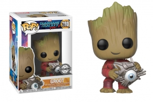 POP! Bobble: Marvel: Guardians O/T Galaxy 2:Groot with cybereye