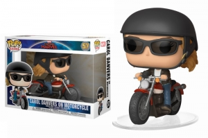Pop! Ride: Marvel Captain Marvel - Carol Danvers on Motorcycle