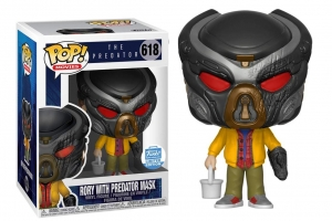 Funko Pop! Movies: The Predator - Rory with Predator Mask exclusive