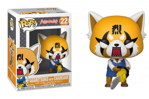Funko Pop! Sanrio: Aggretsuko - Retsuko with Chainsaw