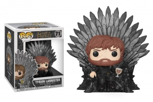 Funko Pop! Deluxe: Game of Thrones - Tyrion Sitting On Iron Throne
