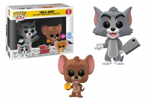 Funko Pop! Animation Tom & Jerry Flocked Vinyl Figure 2Pack exclusive