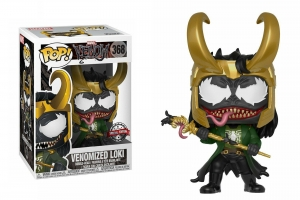 Funko Pop Marvel Venom Venomized Loki exclusive