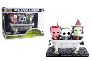 POP! Funko Movie Moments: Disney's The Nightmare Before Christmas - Lock,Shock & Barrel