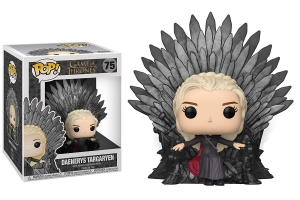 Funko Pop! Deluxe: Game of Thrones - Daenerys Sitting on Throne