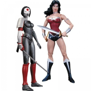 DC Comics - Wonder Woman vs Katana Action Figure 2-Pack by DC Collectables