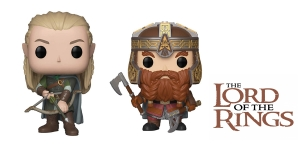 Pop! movies: The Lord of the Rings - Gimli plus Legolas