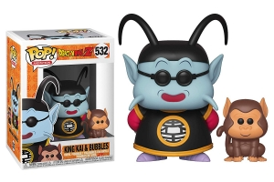 Funko Pop! & Buddy: Dragon Ball Z - King Kai and Bubbles