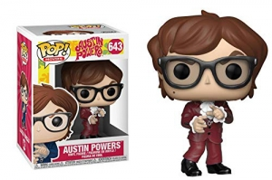 Pop Movies: Austin Powers - Austin Powers red suit exclusive