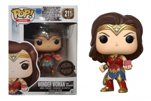 Pop! Movies: DC - Justice League - Wonder Woman and motherbox exclusive