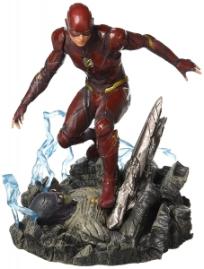 Diamond Select Toys DC Gallery: Justice League Movie Flash Pvc Figure