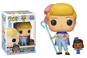 Funko Pop! Disney: Toy Story 4 -Bo Peep with Officer Mcdimples