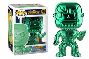 POP Marvel: Infinity War - Thanos green chrome exclusive