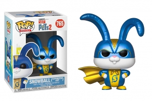 Funko Pop! Movies: Secret Life of Pets 2 - Snowball in Superhero Suit