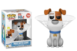 Funko Pop! Movies: Secret Life of Pets 2 - Max in Cone
