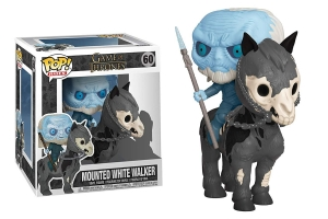 Funko Pop! Rides: Game of Thrones - Mounted White Walker