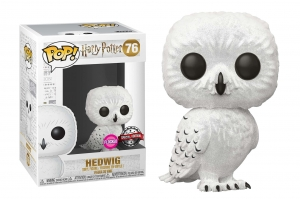 Pop Harry Potter: Series 5 (2018) - Hedwig flocked POP! VINYL