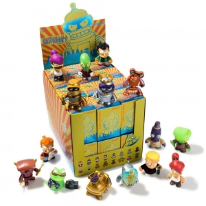 FUTURAMA UNIVERSE X BLIND BOX MINI FIGURE SERIES BY KIDROBOT