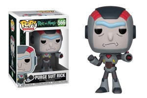 Pop! Animation: Rick and Morty - Purge Suit Rick