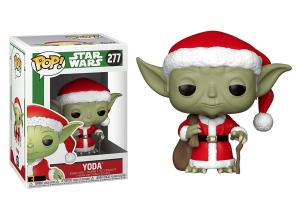 Pop! Star Wars: Holiday - Santa Yoda