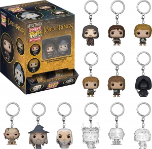 Pocket Pop Keychain: Lord of the Rings and The Hobbit