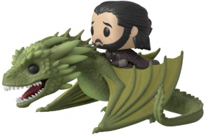 POP Rides: GoT - Jon Snow w/Rhaegal