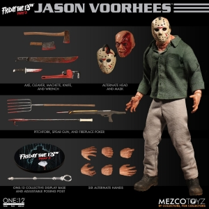 ONE:12 COLLECTIVE Jason Voorhees from Friday The 13th Part 3 Mezco
