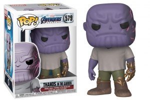 POP Marvel: Endgame - Casual Thanos w/Gauntlet