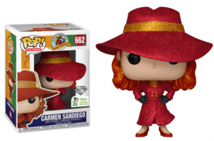 POP! TV: Carmen Sandiego - Carmen Sandiego glittering diamond edition Spring Convention