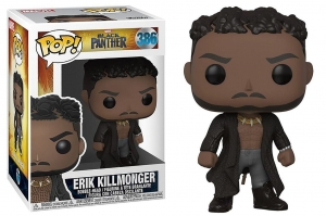Pop! Marvel: Black Panther - Killmonger with Scars