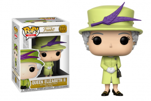 Pop! Celebs: Royal Family - Queen Elisabeth II Green Outfit